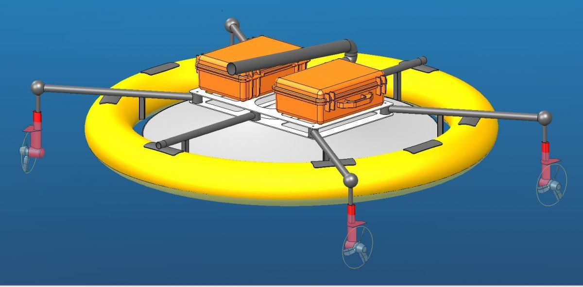 Lessdrone design completed
