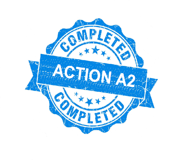 Action A2 completed