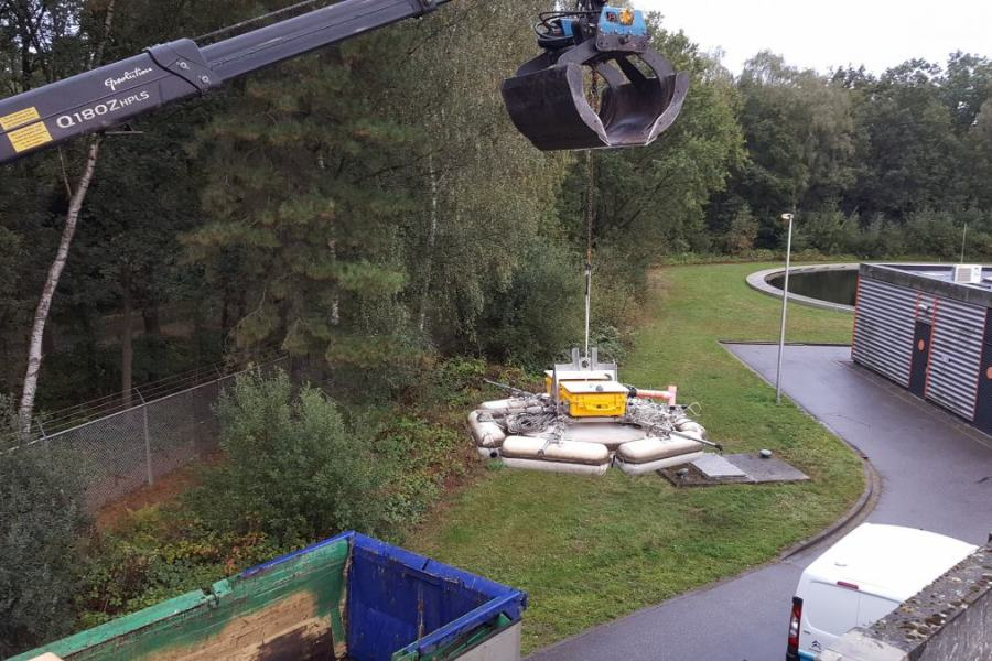 B5 – Measurements at Tillburg and Eindhoven WRRF with the Lessdrone