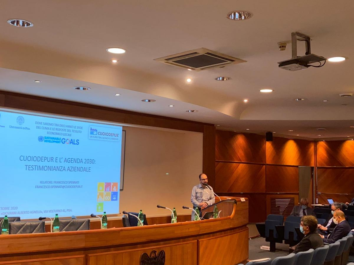 Lesswatt project presented at Industrial Union of Pisa