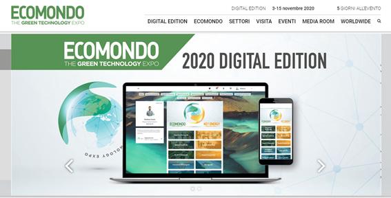 Il progetto LESSWATT a ECOMONDO 2020