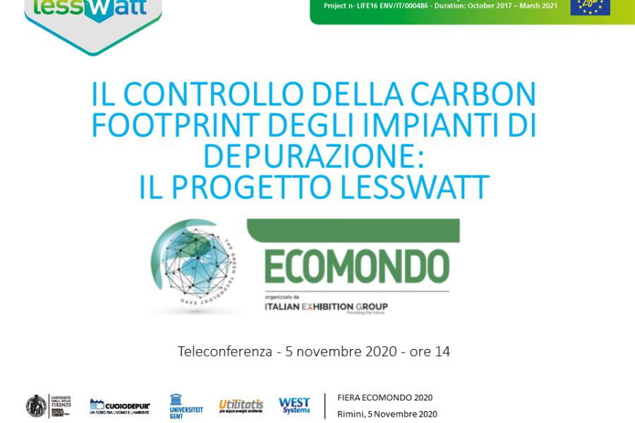 Lesswatt project second workshop (in Italian)