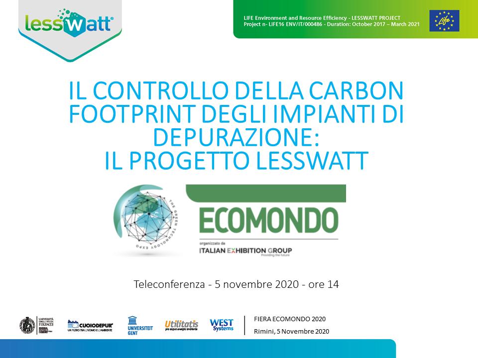 Lesswatt project second workshop (in Italian)