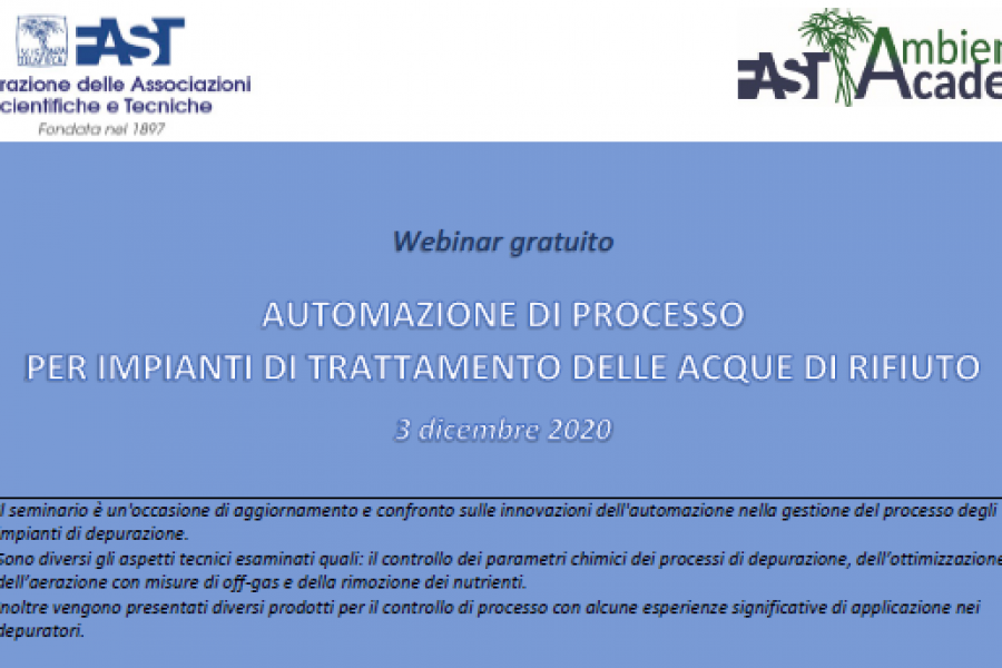 Lesswatt project at the FAST 2020 webinar