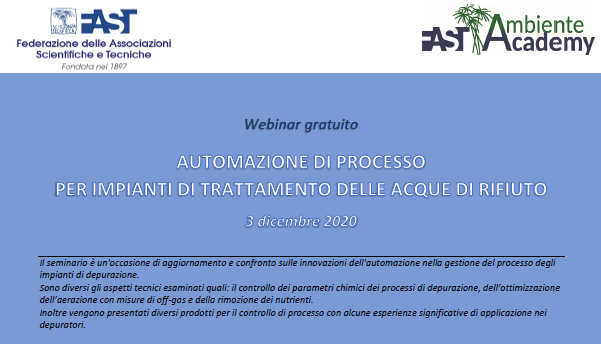 Lesswatt project at the FAST 2020 webinar