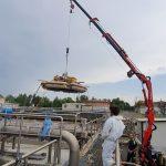 B5 – Second measurement campaign at Reggio Emilia WRRF completed