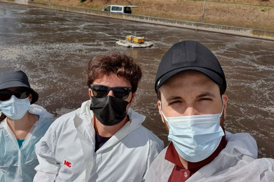 B5 – Second measurement campaign at Roma Est WRRF completed